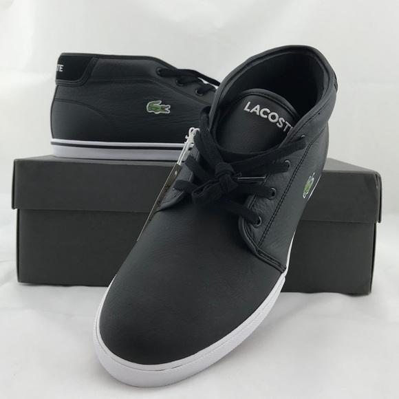 36e0d20b65034 Men s Lacoste Sport Ampthill LCR3 Leather Sneakers